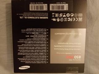 """Samsung 850PRO 1TB SSD SATA3 2.5"""""""