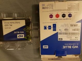 Disco SSD 1TB WDBlue SATA-3