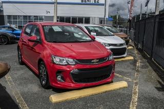 Chevrolet Sonic Lt Red 2017