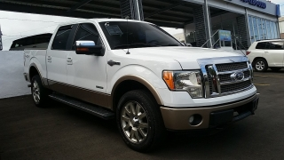 Ford F-150 King Ranch Blanco 2011