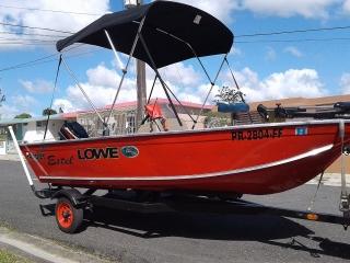Venta de bote Angler Lowe en excelente estado