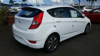 Hyundai Accent 5 Blanco 2017