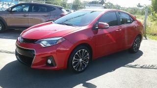 Toyota Corolla S Rojo 2014