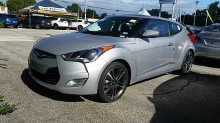 Hyundai Veloster Gris 2017