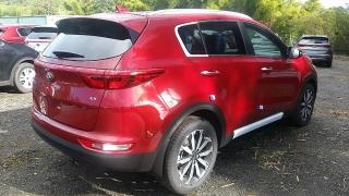 Kia Sportage EX Rojo 2017