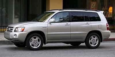 Toyota Highlander 4dr 2wd 3rw At 2004