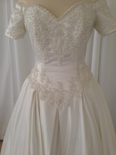 traje de novia ivory bordado