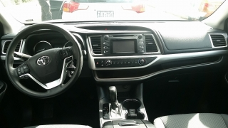 Toyota Highlander LE Gris Oscuro 2015