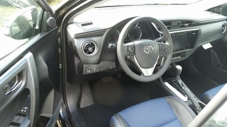 Toyota Corolla SE Negro 2017