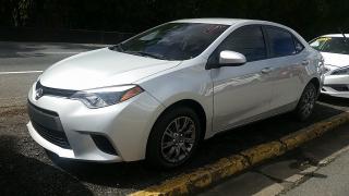 Toyota Corolla L Plateado 2014