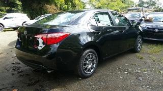 Toyota Corolla L Negro 2017