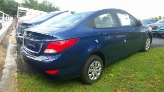 Hyundai Accent GL Azul 2017