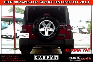 JEEP WRANLGER SPORT UNLIMITED 2013
