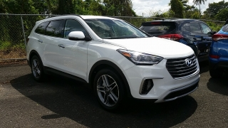 Hyundai Grand Santa Fe Limited Blanco 2017