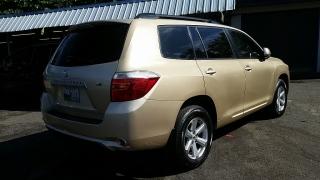 Toyota Highlander Base Dorado 2008