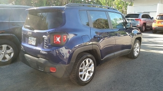 Jeep Renegade Latitude Azul 2016