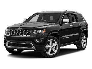 Jeep Grand Cherokee Limited Black 2016
