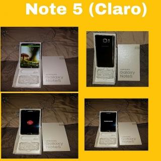Note 5 (compañia claro)