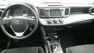 Toyota RAV4 LE Gris Oscuro 2016