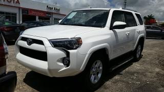 Toyota 4Runner SR5 Blanco 2015