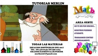 Tutorias Merlin Area Oeste
