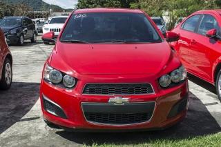 Chevrolet Sonic LS Red 2013