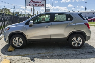Chevrolet Trax LS Silver 2017