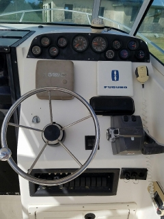 Mako 25 w/a '98- Twin 175HP OMC '03, trailer