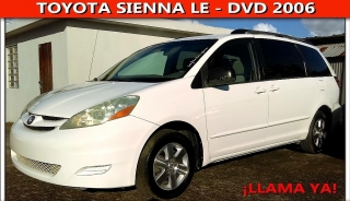 Toyota Sienna LE DVD 2006
