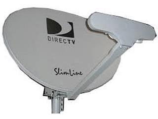 antena directv con power inserter y lnb triple.
