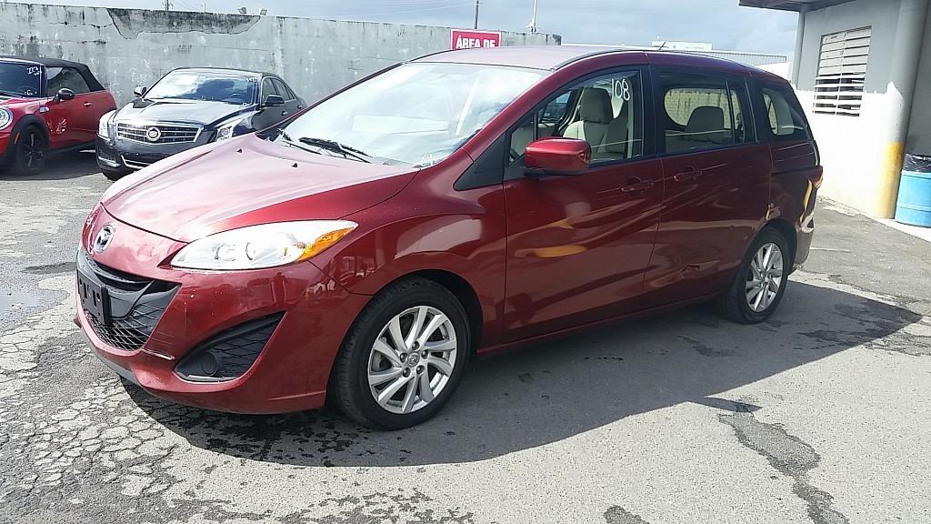 Mazda Mazda5 Sport Rojo Vino 2012 Para Compra Venta En San
