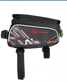 Bike frame front bag for 6.0 touch screen mobile phone bag