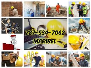 Dejame ayudarte llamame al 787-534-7062 Maribel deja tu nombre y telefono y pueblo y te llamare Dios te bendiga Cubro toda la isla el mas bajo precio