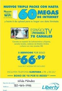 Internet/video/telefonia