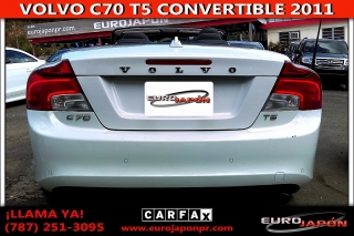 VOLVO C70 T5 CONVERTIBLE 2011