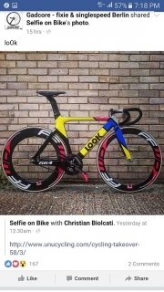 Bicicleta reparada y al día