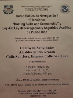 Curso Básico de Navegación y Ley 430 Ley de Navegación