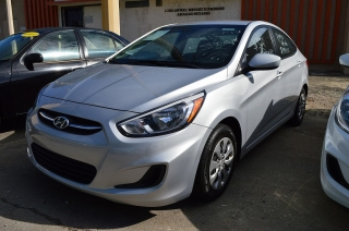 Hyundai Accent Se Gray 2016
