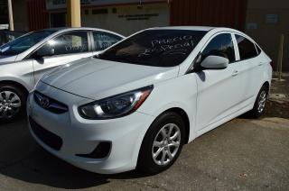 Hyundai Accent Gls White 2014