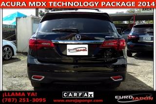ACURA MDX TECHNOLOGY PACKAGE 3 FILAS DE ASIENTOS 2014