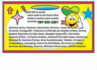Planos, Trabajos en Construcion  Sellados de techos todo estimado gratis 787-953-6267 Maribel en toda la isla
