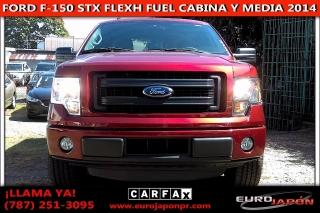 FORD F-150 SXT FLEX FUEL CABINA Y MEDIA 2014