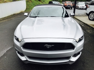 Ford Mustang Ecoboost Premium Gris 2016