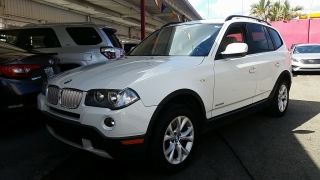 BMW X3 xDrive30i Blanco 2010