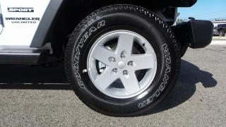 Jeep Wrangler Unlimited Sport Blanco 2017