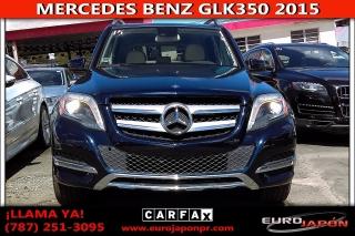 MERCEDES BENZ GLK350 2015