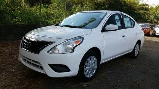 Nissan Versa Sedan SV Blanco 2017