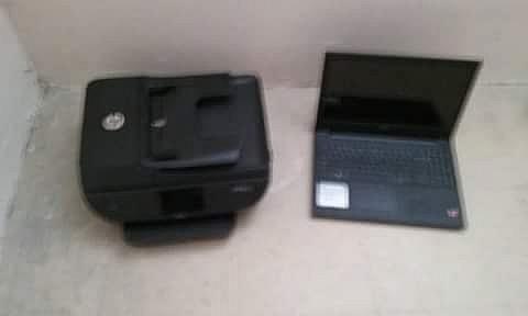 Computadora HP e Impresora