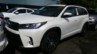 Toyota Highlander SE Blanco 2017