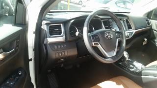 Toyota Highlander Limited Blanco 2017